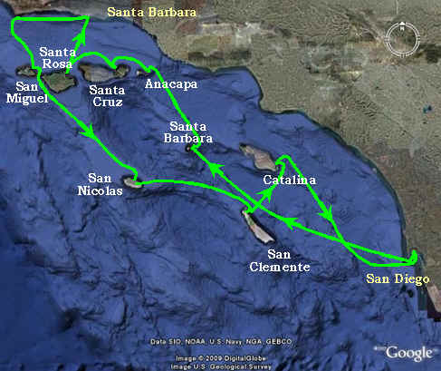 Route of Californian